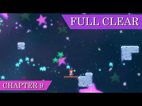 Celeste - Chapter 9: Farewell (Full Clear & Cutscenes)