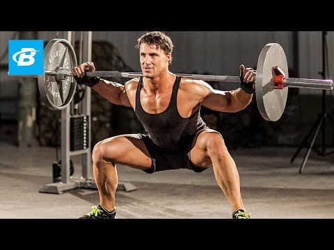 Mass-Building Leg Workout | MFT28: Greg Plitt's 4-Week Military Fitness Training Program