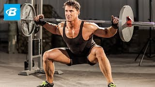 Mass-Building Leg Workout | MFT28: Greg Plitt