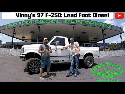Vinny @ Lead Foot Diesel Performance and his 97 F-250