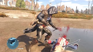 Assassin's Creed 3 Remastered Arno Outfit Combat And Parkour Chase