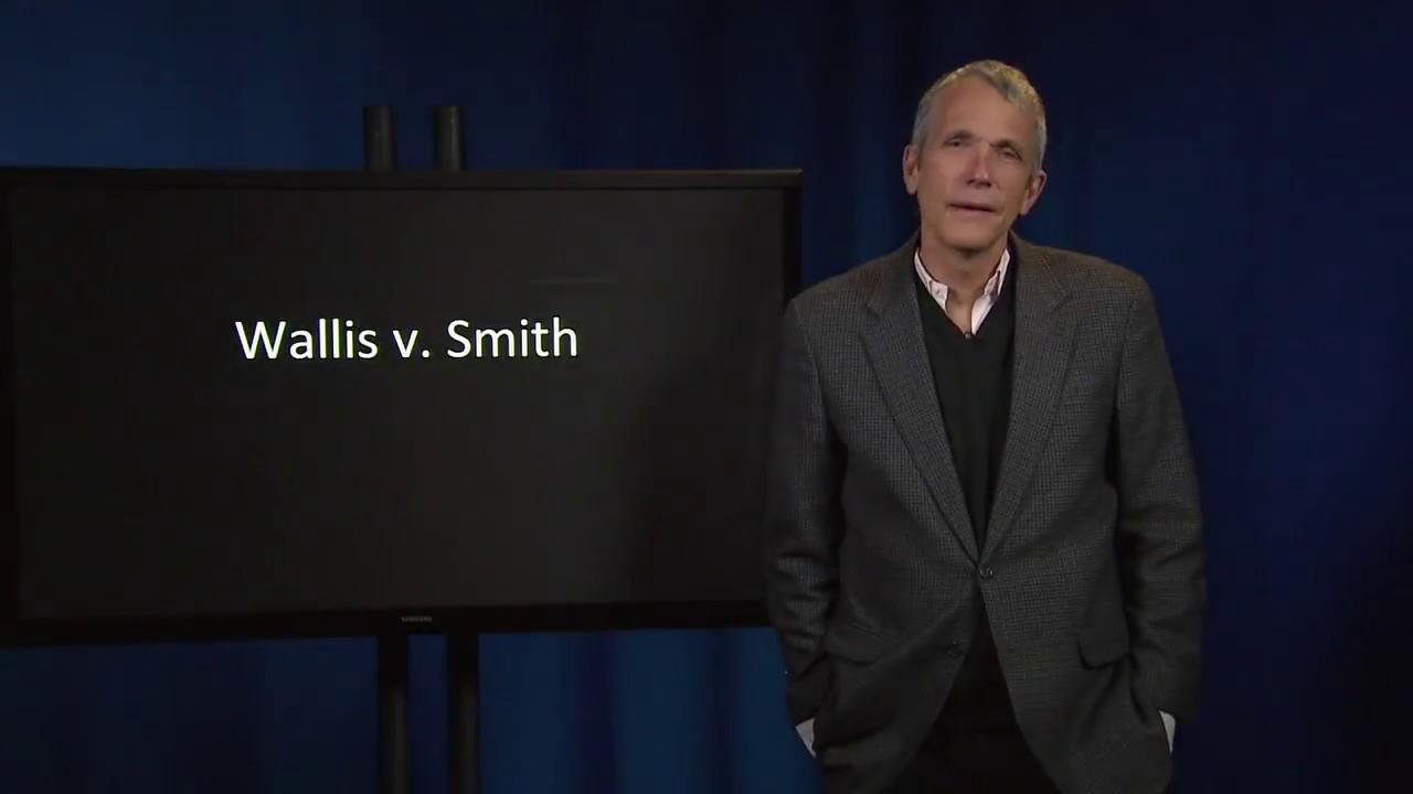 Contract Law 52 III Wallis v Smith