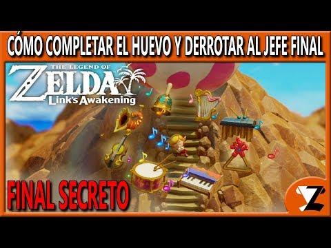 zelda:-link's-awakening-remake:-final-secreto---cómo-completar-el-huevo-y-derrotar-al-jefe-final