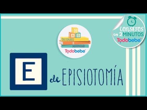 E de Episiotomia