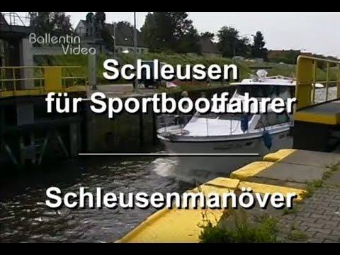 Schleusenmanöver für Sportbootfahrer - DVD Lehrfilm