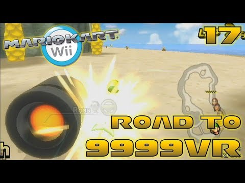 RIP my VR :(  - Road to 9999vr Ep 17 - Mario Kart Wii Wiimmfi CTGP