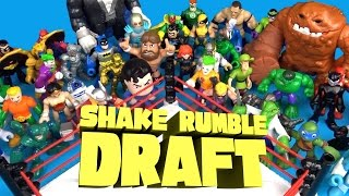 Shake Rumble DRAFT with Batman Toys, Avengers Toys, Spiderman Toys and Scooby Doo by KidCity