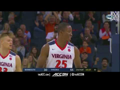 Monmouth vs Virginia College Basketball Condensed Game 2017