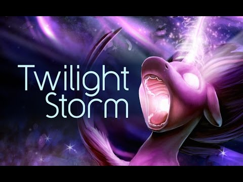 Twilight Storm (Painting Timelapse)