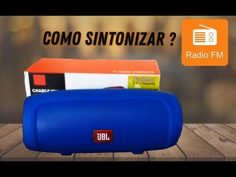 Como sintonizar rádio FM na JBL Charge mini 3+  Unboxing e Review da JBL mini 3+