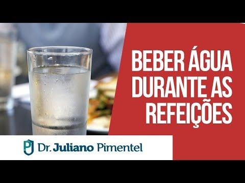 Posso Beber Água Durante Refeição, Água com Limão e Barriga Estufada | Dr. Juliano Pimentel
