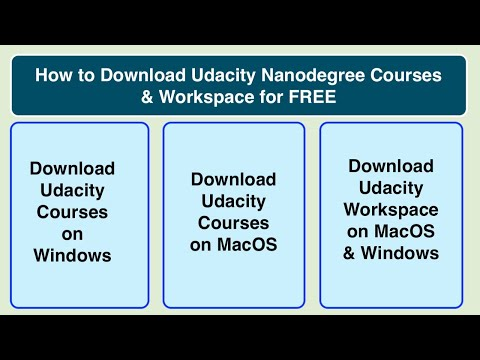 How To Enroll & Download Udacity Nanodegree Courses For FREE | For Windows FREE | TechTalkWithATS
