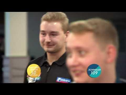 SPEED DARTS! Dimitri Van den Bergh v Martin Schindler