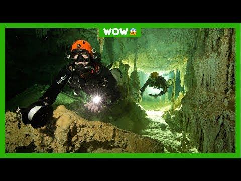 Grootste onderwatergrot van de wereld ontdekt