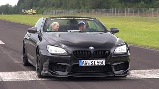 BMW M6 F12 BBM M700BT w/ Akrapovic Exhaust! Revs & Accelerations!