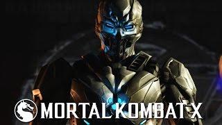 Mortal Kombat X - Triborg Smoke Variation Gameplay Kombat Pack 2 @ (60fps) HD