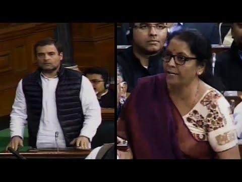 'You spoke but did not answer,' Rahul Gandhi targets Sitharaman on Rafale