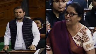 'You spoke but did not answer,' Rahul Gandhi targets Sitharaman on Rafale