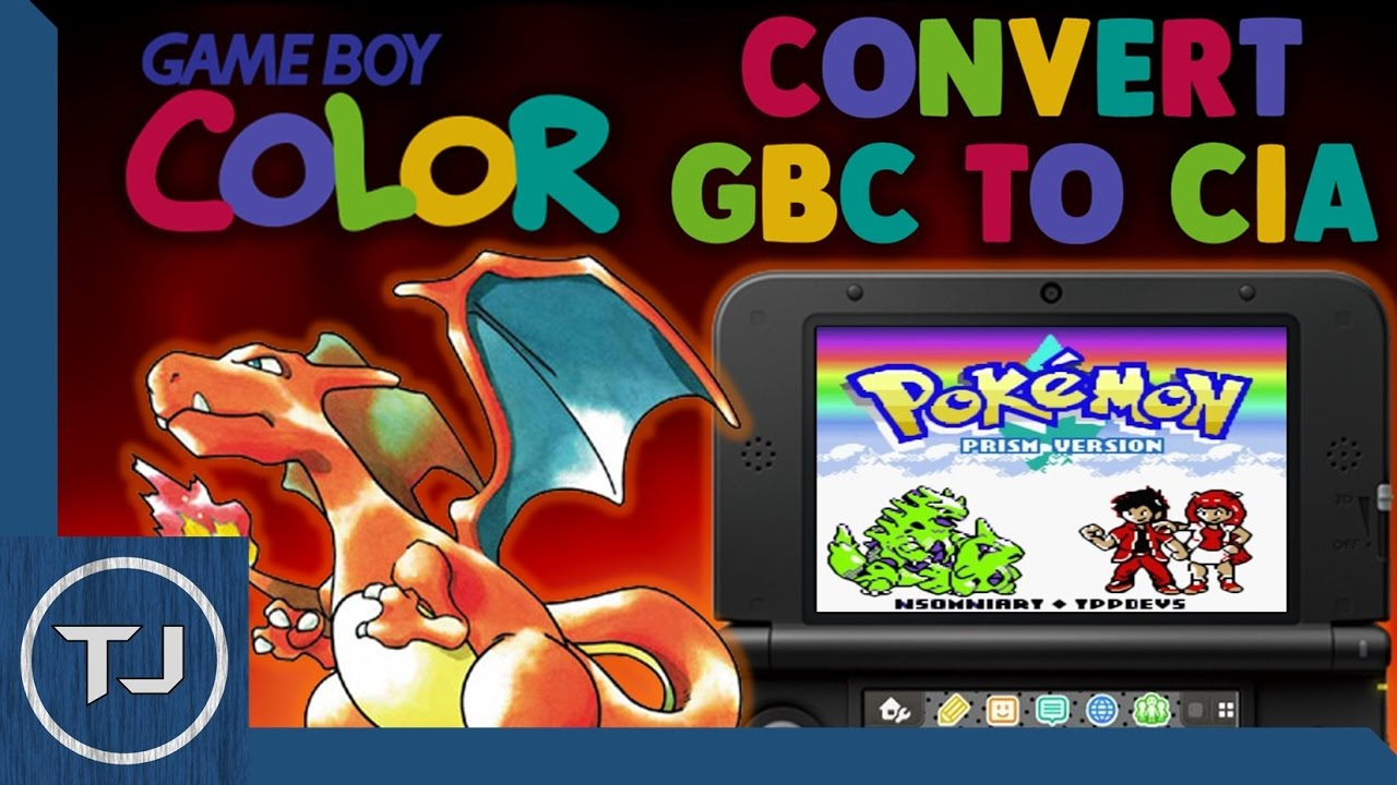 Pokemon gameboy color roms - How To Convert Gameboy Color Gbc Roms To Cia Files Install Them
