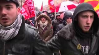 مظاهرات ضد الطوارئ والتجريد من الجنسية في فرنسا