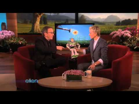 Tim Allen Brings Buzz Lightyear to Ellen!