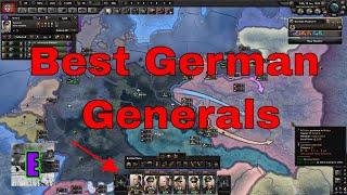 HOI4- Best German Generals and Army Doctrine