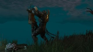 Ведьмак 3. Геральт против Имлериха.
