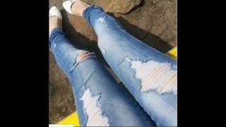 Как сделать рваные джинсы(инста https://www.instagram.com/ulyana_zhd/ вк http://vk.com/ulyana_zhd., 2016-03-10T19:59:59.000Z)
