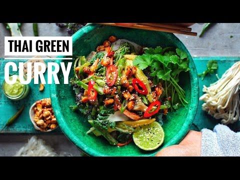 THAI GREEN CURRY NOODLE BOWL | Avant-Garde Vegan