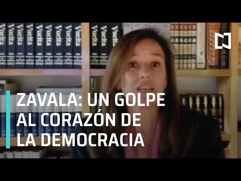 Margarita Zavala advierte que no se rendirá - Por las Mañanas