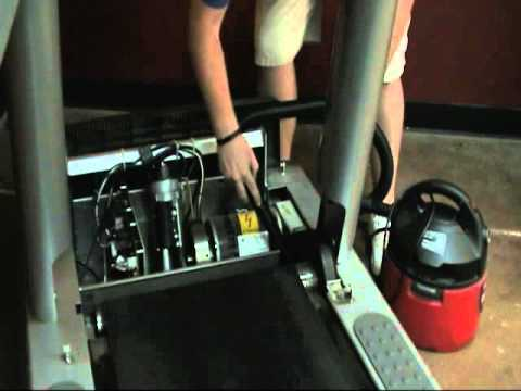 Life Fitness 95T Belt and deck replacement  YouTube
