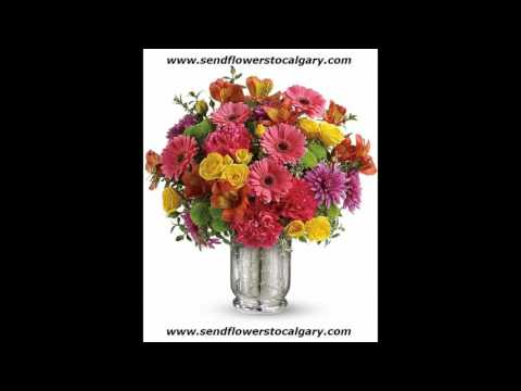 Send flowers from Singapore to Calgary Alberta Canada