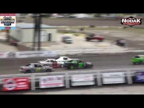 Nodak Speedway IMCA Sport Compact Heats (Motor Magic Night #1) (9/1/18)