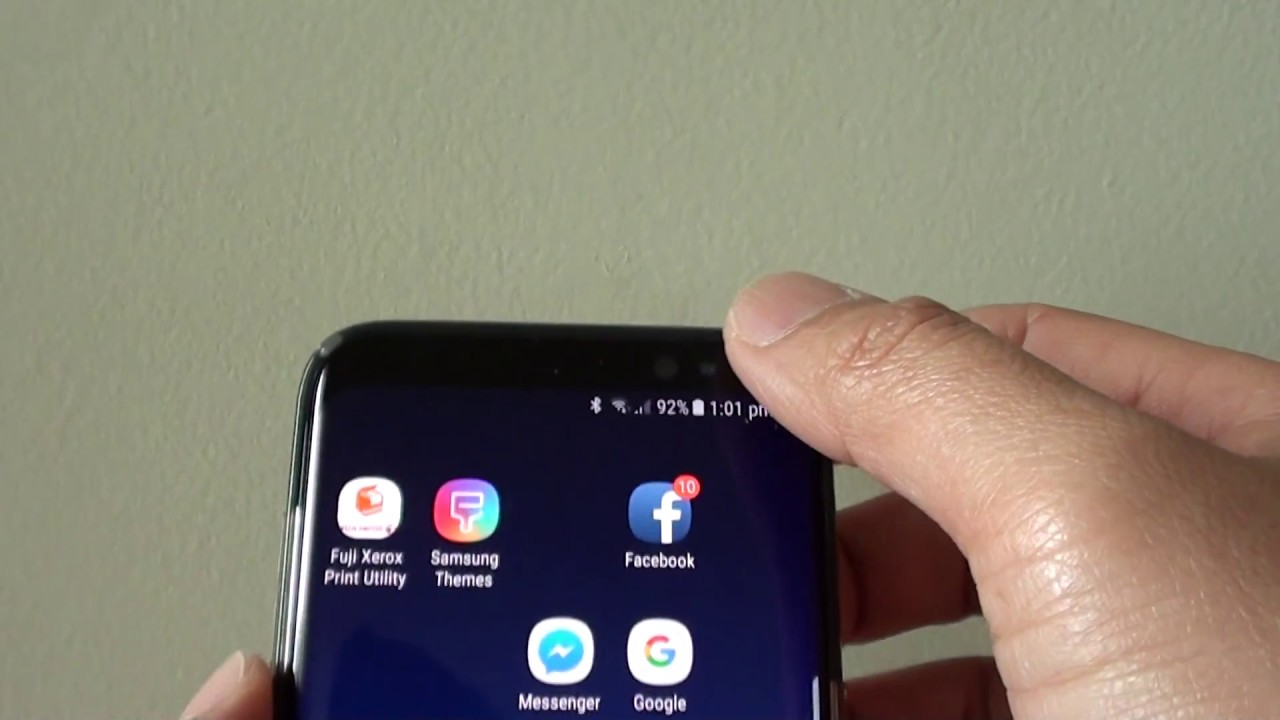 Samsung Galaxy S8: How to Enable / Disable Vibration While Ringing