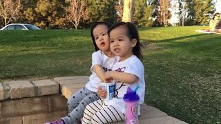 CK little clip twin girls 2.4.2018