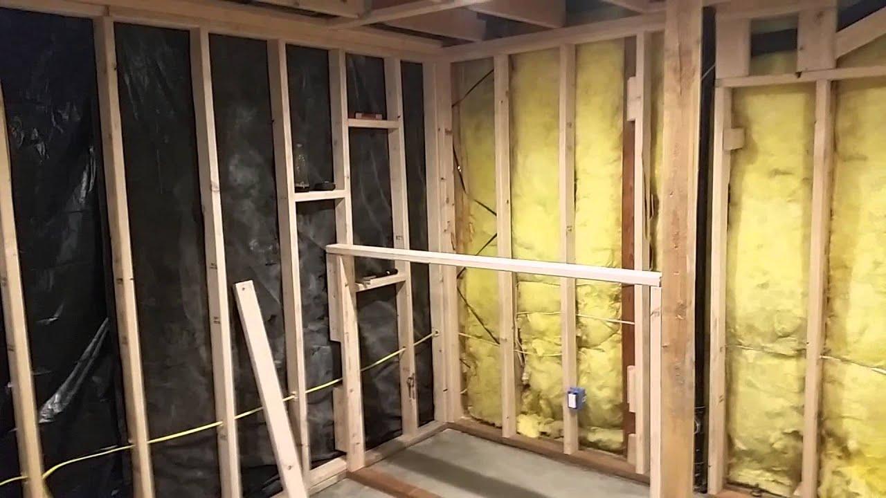 Man cave hidden room part 1 of 3 - YouTube