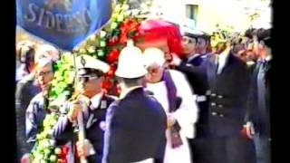 Funerali Cosimo Carlino Siderno 17 febbraio 1991