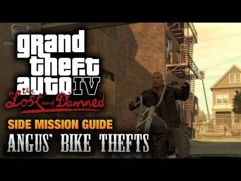 GTA: The Lost and Damned - Angus' Bike Thefts