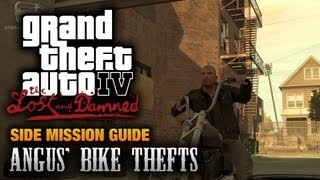 GTA: The Lost and Damned - Angus' Bike Thefts (1080p)