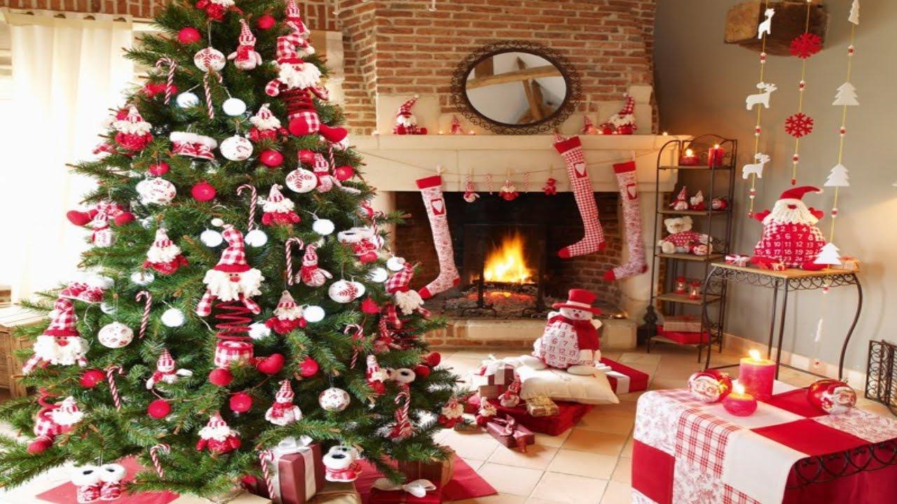 Decoraci n rbol de navidad decorando rbol navide o - Decoracion para arboles navidenos ...