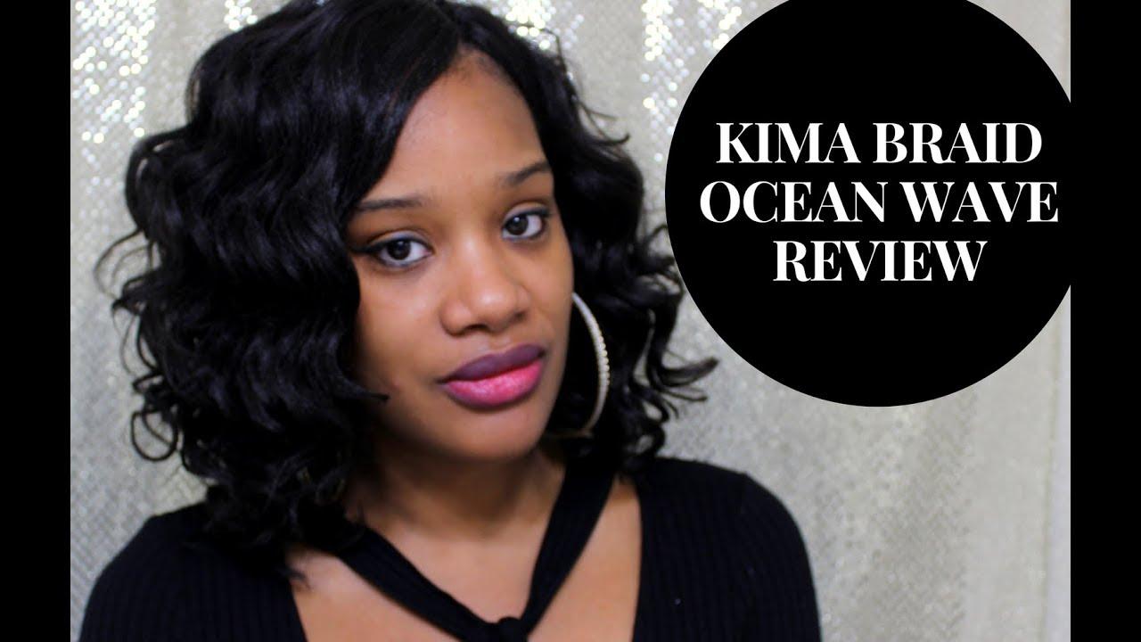How To Crochet Braids Using Kima Ocean Wave Hair YouTube