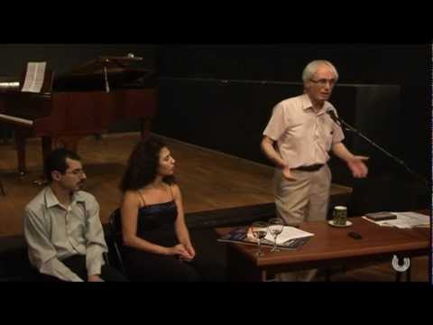 Tigran Mansurian | Yerevan Premiere of Canti Paralelli at Naregatsi Art Institute