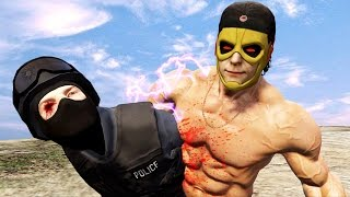 【DE JuN】真。北斗爆奶拳!(GTA 5 Funny/FAILS/Brutal Kill Compilation)