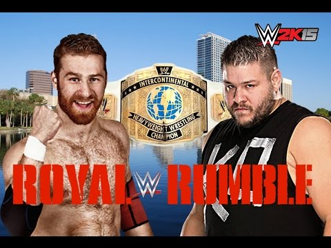 Kevin Owens Vs Sami Zayn: WWE Royal Rumble 2016- Dream Match!
