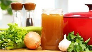 Healthy Bone Broth Recipe | #Homemade