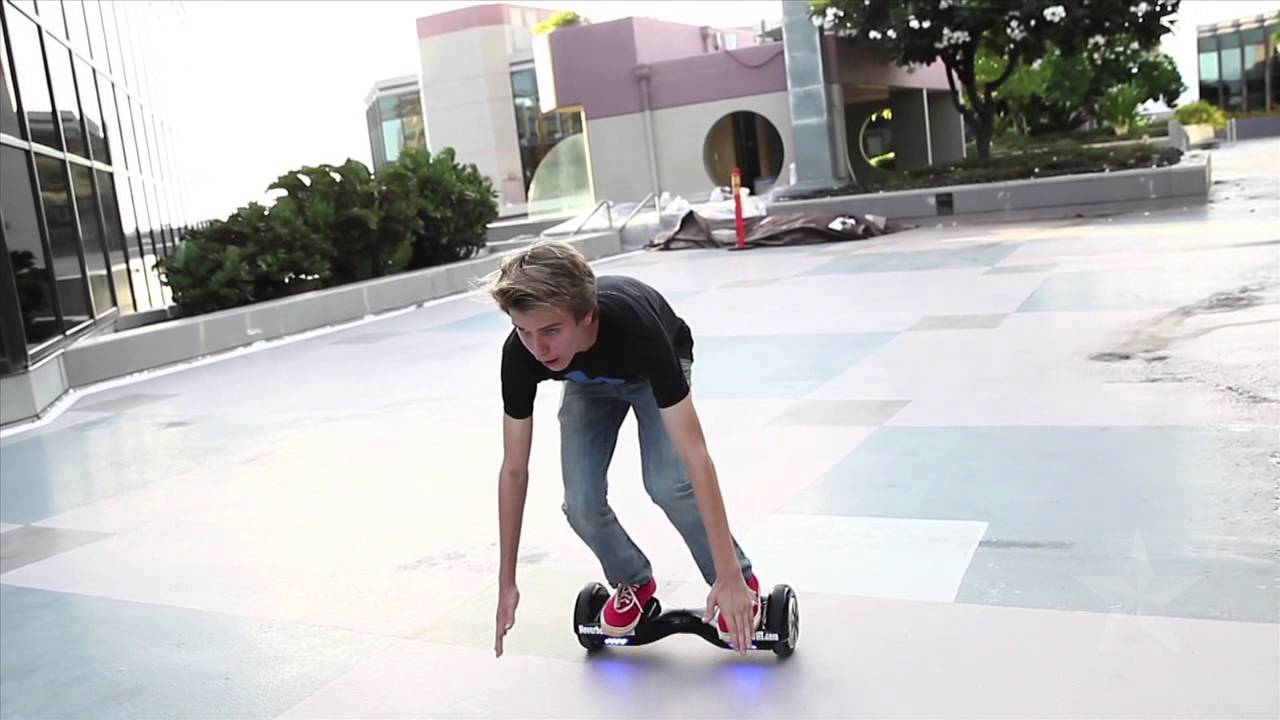 Hoverboard Hi Demonstration