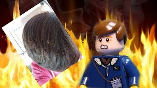 LEGO Vlog | My Hair Caught on FIRE | LEGO Stop Motion Animation
