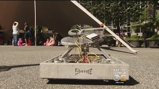 Robotic Invasion Gets Kids Excited About Technology