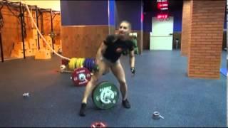3d online CrossFit Games - Албу Александра wod3