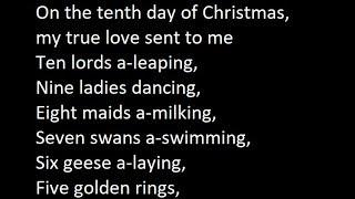 Ray Conniff - 12 Days Of Christmas Lyrics
